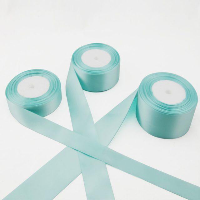 Width Optional 25 Yards Tiffany Blue Ribbon Tiffany Blue Wedding Party Supplies Wedding Decoration Accessories Wedding Gifts