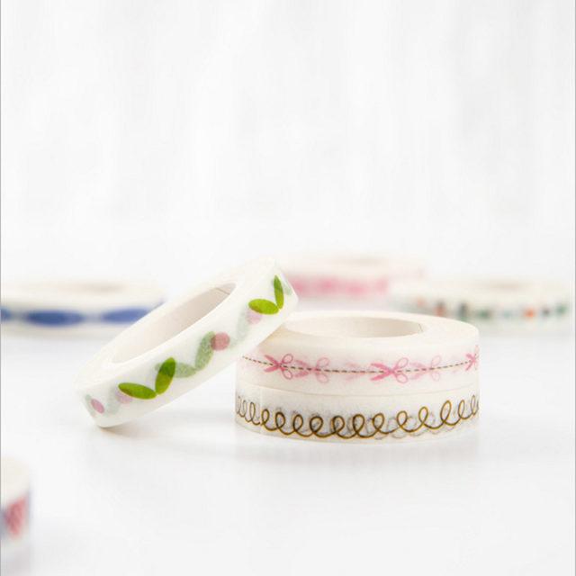 Floral Adhesive Washi Tape