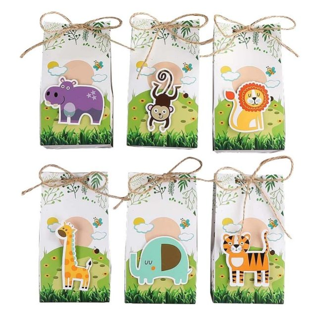 Jungle Animals Paper Bags