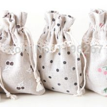 Cotton sack bag Wedding favour and gifts