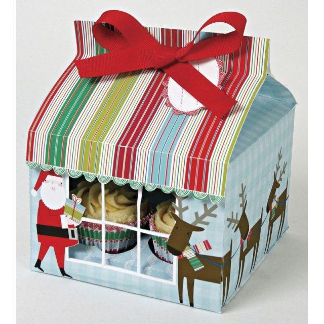 Christmas Cupcake Boxes