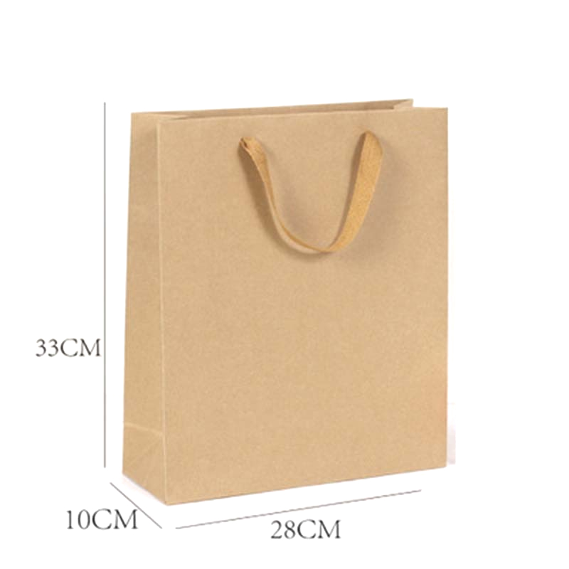 Kraft Paper Bags with Handles- Available in 6 Sizes