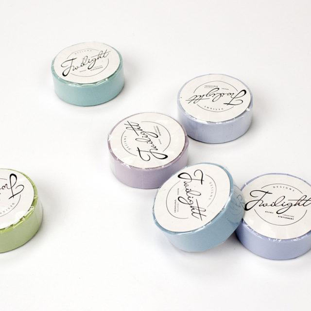 Pastel Paper Washi Tape