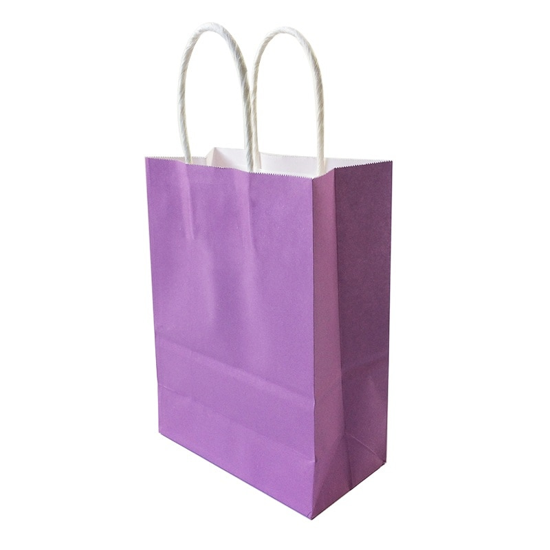 Multicoloured Paper Bags with handles